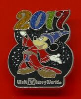 Disney Enamel Pin Badge Mickey Mouse Character Year 2017 Walt Disney World WDW