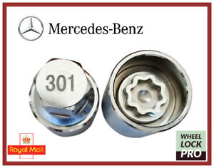 New Mercedes Benz Locking Wheel Nut Key Number 301 - UK Seller