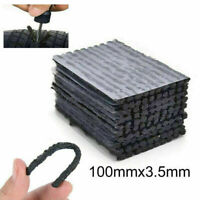 50PCS Tire Repair Plugs Tubeless Seal Patch Tyre Rubber Strips Puncture Recovery
