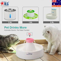 Electric Pet Water Fountain Dog/Cat Drinking Bowl Waterfall  /Filters