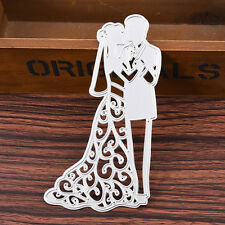 Metal Wedding Couple Cutting Dies Stencils DIY Scrapbooking Album Paper Decor