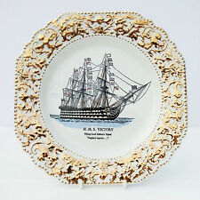 Vintage Lord Nelson Plate HMS Victory Ship
