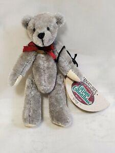 """Ganz Cottage Collectables """"Greg"""" Mini Bear by Lynda Kuntz 3"""" tall retired NIB"""