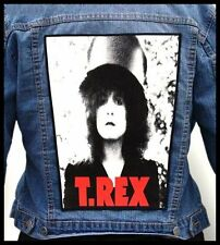 T.REX - Marc Bolan --- Giant Backpatch Back Patch