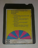 Alice Cooper Others Greatest Hits 8 Track Tape Cartridge Vintage 1971 Untested