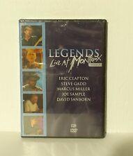 Legends - Live at Montreux 1997 (DVD, 2005) Eric Clapton David Sanborn NEW REG 1