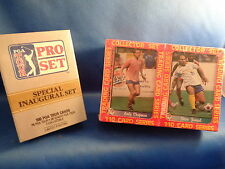 SOCCER - 1991 PACIFIC MSL FACTORY (220) CARDS + 1990 PRO SET GOLF (100) CARDS