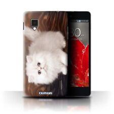 Étuis, housses et coques blancs LG Optimus G pour téléphone mobile et assistant personnel (PDA) LG