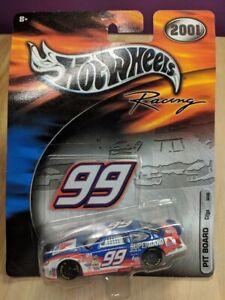 Hot Wheels Racing 2001 NASCAR Pit Board Series #99 J Burton CITGO Taurus