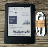 Amazon Kindle Basic (7th Generation) Wi-Fi, 6in Black eReader -[Good Condition]-