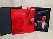 Gaetano Donizetti Maria Stuarda Book DVD ROM 2 CD Fogliani Scalia Italian Opera