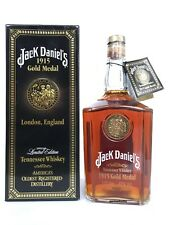 Jack daniels daniel's 1915 Gold medal London England full sealed whisky bottle