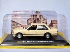 Opel Rekord E - TAXI Nürnberg 1980     /  IXO/Altaya 1:43