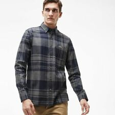 Lacoste Check Button Cuff Formal Shirts for Men