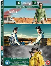 BREAKING BAD SEASON 1-3 DVD BOX SET Region 2 - Brand New & Factory Sealed