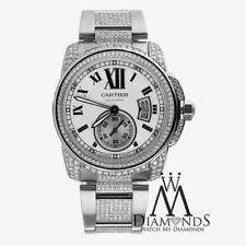 Relojes de pulsera Cartier de plata