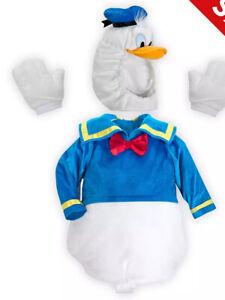 """DISNEY STORE"" Plush 'DONALD DUCK' Costume -18-24. Month's—. BNWT"