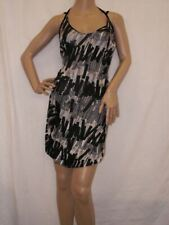 Miss Sixty Black White Knee Length Dress RRP £110 BNWT