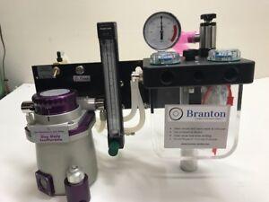 Anesthesia Machine & Isoflurane TEC 3 Vaporizer - Veterinary  *** Wall Mount ***