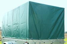 Plane Hochplane Hülle 80 cm grün für Stema Anhänger F D M 750 DBL 850 HP etc NEU