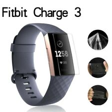 5-Pack Screen Protector Full Coverage Clear Film For Fitbit Charge 3 HD