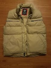 Mens Jordan Craig Puffer Vest - Cream, Light Brown, Camo - Medium M