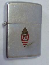 Zippo lighter, 1949 Niagara Falls Patent Pending Advertiser