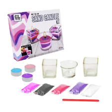 RMS Create Candle Decorating Gift Set Kit Ar Craft-Glass/Sand