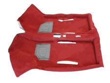 classique FIAT 500 126 intérieur rouge rouge moquette tapis de sol tout nouveau