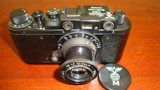 Russian Leica Copy D.R.P. ERNST LEITZ WETZLAR WW2 Vintage 35MM Camera SN391719