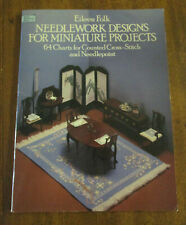 Eileen Folk Needlework Designs for Miniature Projects, 1984