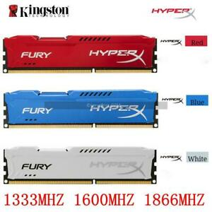 Ram for Hyperx DDR3 4GB 8GB 1333 1600 1866 MHz 240pin FURY Desktop Memory lot