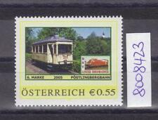 """Österreich PM personalisierte Marke Eisenbahn """"Pöstlingbergbahn 6. Marke"""" **"""