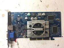 Scheda video agp Siluro Nvidia GeForce4 GF4 MX-440_64 mb.