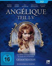 Angelique - Teil I-V - Gesamtedition - Anne Golon - Michele Mercier [Blu-ray]