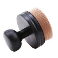 Flat + Round Top Buffer Liquid Foundation/Powder Makeup Brush Jian