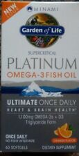 Minami Nutrition MorEPA Platinum Ultimate Omega-3 D3 Orange 1100 mg 60 Softgels