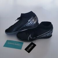 NEW Nike Superfly 7 Academy IC Black Indoor Soccer Shoe AT7975-001 Men's sz 9.5