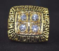 PITTSBURGH STEELERS REPLICA 4th SUPERBOWL RING SIZE 11 WITH BRADSHAW &  #12