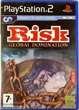 RISK GLOBAL DOMINATION - jeu de stratégie console PlayStation 2 Sony PS2 complet