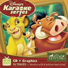Disney's Karaoke Series: The Lion King by Disney (CD, Sep-2003, Walt Disney)