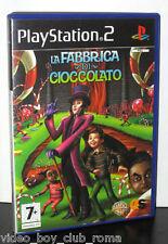 LA FABBRICA DI CIOCCOLATO GIOCO USATO BUONO STATO SONY PS2 ED ITALIANA PG805