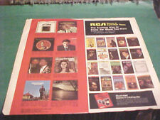 RCA RECORDS INNER SLEEVE ART ONLY NO RECORD 12 IN 21-112-1-43 J