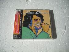 JAMES BROWN / LIVIN IN AMERICA + bonus track - JAPAN CD out of print