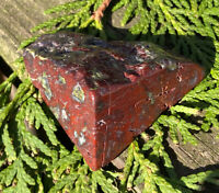 58g AUSTRALIAN DRAGON BLOOD STONE CRYSTAL POLISHED HEALING STONE Reiki Charged