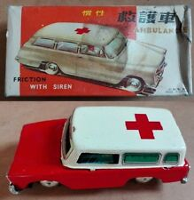 Ford Fairlane 1965 Ambulanza metallo frizione tin friction ambulance made China