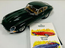 Jaguar 4.2 Coupé 1961 Vert 1/12 NOREV 122710 Xk-e