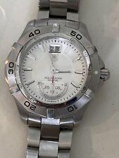 TAG Heuer Aquaracer Grande Date WAF1011.BA0822 Dive Watch Men Quartz