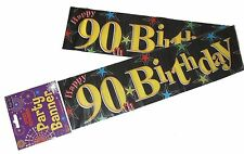 Birthday, Adult Party Banner without Theme