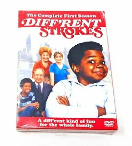 Different Strokes -  Complete First Season (DVD, 2004, 3-Disc Set) NEW & SEALED